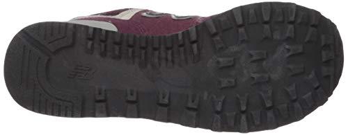 Sneaker New Donna Wl574v2 Bordeaux Balance qYwYE0