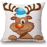 Alphadecor Christmas Pillowcover 20 X 20 Inches / 50 By 50 Cm Best Choice For Couples,home Office,birthday,car Seat,bf,wife With 2 - Perry Costume Kate