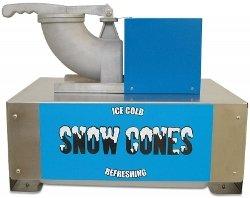 Benchmark 71050 Snow Blitz Portable Snowcone Machine, 120V, 635W, 5.3A, 500 lbs/hr, 22-51/64 '' Width x 18-1/2'' Height x 18'' Depth