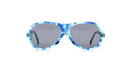 Silhouette 69 122 Blue Certified Vintage Rectangular Sunglasses For Mens and Womens