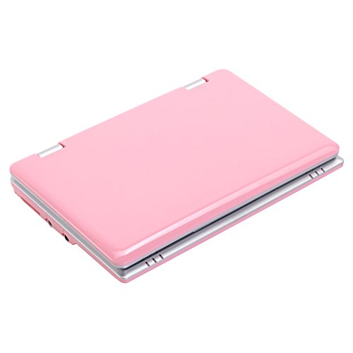 Atoah®7 Inch Mini Netbook VIA8880 Android 4.4.2Jellybean Laptop Computer 512/4GB Storage Wifi HDMI with Good Gift for Children( Pink)