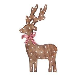 verona standing wooden reindeer decoration christmas decoration