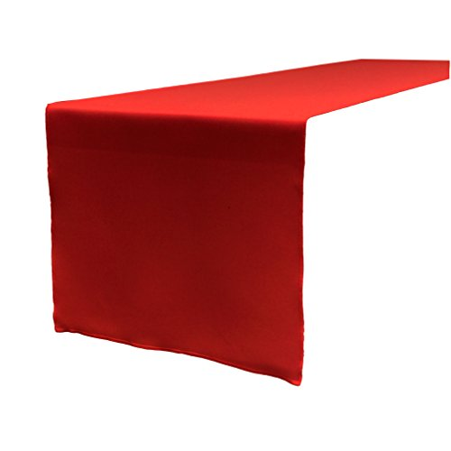 solid red table runner amazon com
