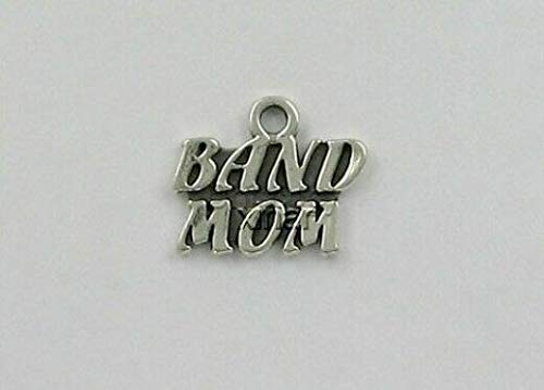 Sterling Silver Band Mom Charm for Jewelry Making Bracelet Necklace DIY Crafts