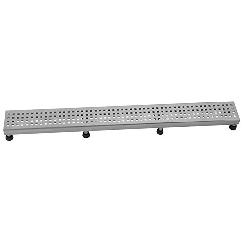 Jaclo 6222-60-PSS Square Grate, 60'', Polished Stainless Steel