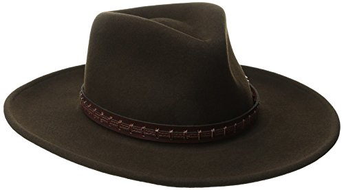 Bailey Western Men's Firehole, Beaver, X-Large (Brown Mens Beaver)