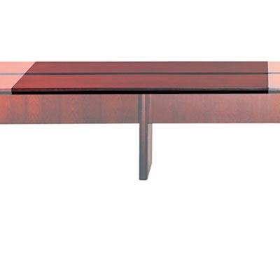 Tiffany & Co. Mayline CMT72ATCRY Corsica Conference Series 6' Adder Modular Table Top Sierra Cherry