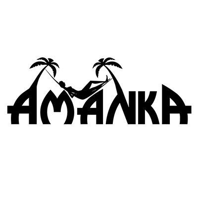 AMANKA Fauteuil Suspendu pour asseoir 2 personnes Hamac 185x130cm chaise 100% coton balançoire XXL 150kg siège pour se balancer Noir