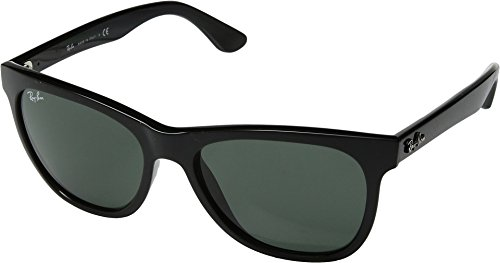 Ray-Ban Unisex RB4184 Black/Green One - By Ban Ray Sunglasses
