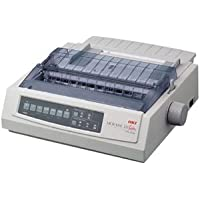 Oki MICROLINE 321 Turbo Dot Matrix Printer. ML321 TURBO 9PIN WIDE 435CPS PAR USB 120V EPSON IBM ML WIN UNIX DOT. 9-pin - 435 cps Mono - 288 x 144 dpi - Parallel, USB