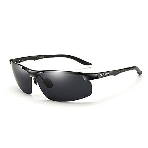 Gafas Ronda 7 Conducción Gafas Sol Color Cara de de de Gafas UV Hombres Sol Hombres Conducción 1 Retro polarizadas DT U6PAwxp