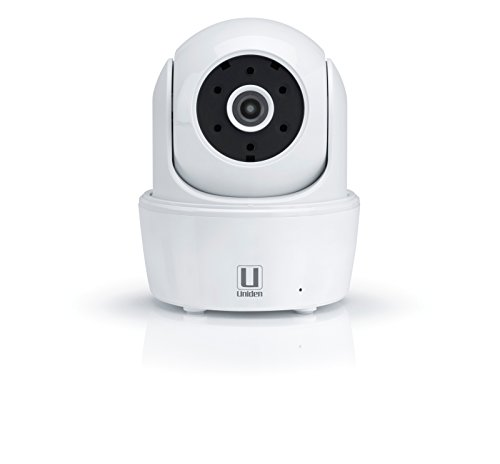 Price comparison product image Uniden AppCam26PT HD Indoor WiFi IP Camera with Motorized Pan / Tilt (White)