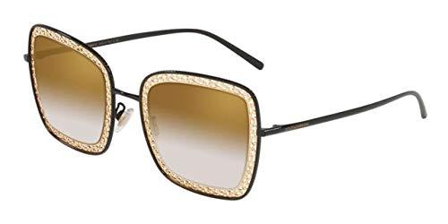 Gafas de Sol Dolce & Gabbana DEVOTION DG 2225 BLACK GOLD ...