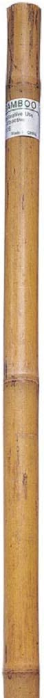 Bond Manufacturing 91016 6ft x 1in Bamboo Super Pole, 1 x 1 x 72 inches, Natural
