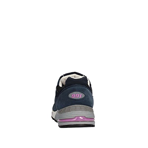 W991SMN Navy Blue Woman Sneaker Balance White New H5q1a