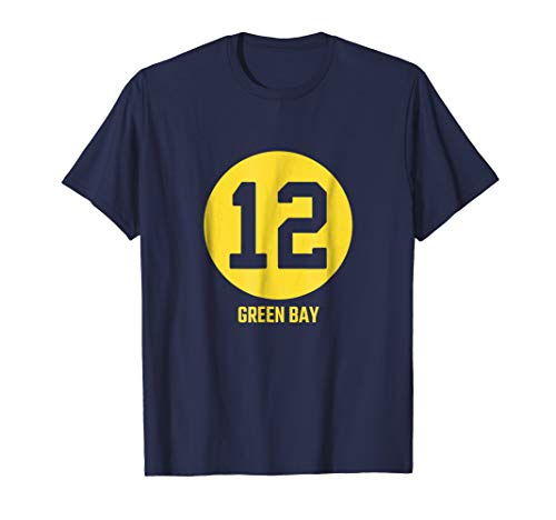 (Acme Green Bay Number 12 Jersey T-Shirt)