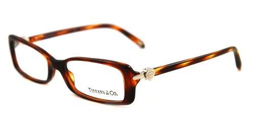 Tiffany & Co Tf2035 Eyeglasses 8107 Havana Demo Lens, 52Mm: Amazon ...