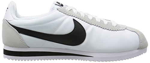 black Nylon Scarpe bianco Classic Bianco Nike Ginnastica Bone Uomo Cortez white Da light nero qTFfxHEv