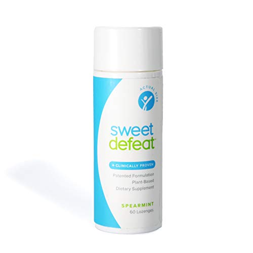 Sweet Defeat - Reduce Sugar Cravings in Seconds, Made with Natural Gymnema Sylvestre Extract That Controls and Reduces Desire for Sweet Food - 60 Lozenges ... ...