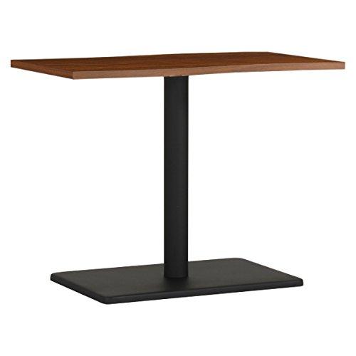 arne ダイニングテーブル 机 幅90 奥行き60 高さ70 日本製 デスク 食卓テーブル デザインテーブル River9060D BR×BK B077Z6NP6W 高さ:70cm/天板サイズ:90×53|BR×BK BR×BK 高さ:70cm/天板サイズ:90×53