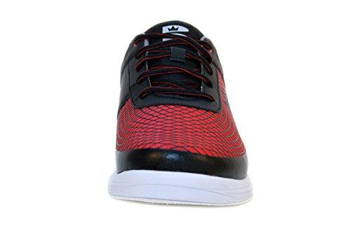 rojo Red Black blanco Brunswick Frenzy Bowling Guantes qft0Y7