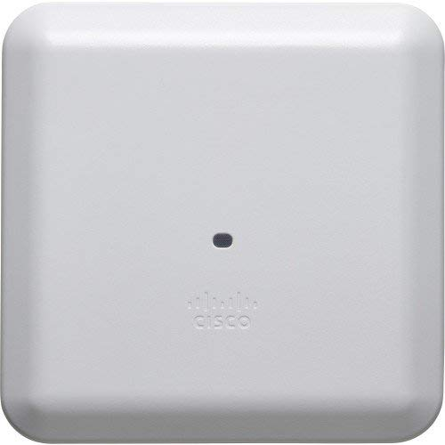 Cisco Aironet Wireless Access Point – AIR-AP2802I-B-K9C – Configurable (3 MU-MIMO Streams, 2.4GHz and 5GHz Radios, Wave 2, 802.3at PoE) (Renewed)