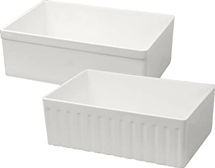 Mitrani OXFORDLB W Oxford LB Super Single Titan Kitchen Sink White