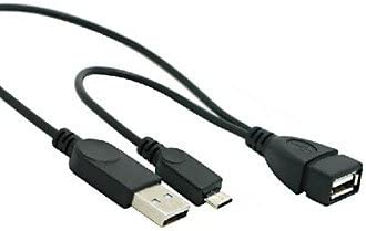 Micro USB 2.0 Male OTG Cable FASEN USB2.0 Female to USB 2.0 Male