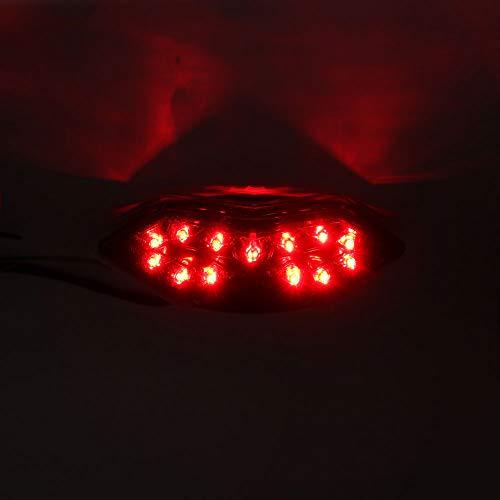 - DMP 2010-2013 Kawasaki Z1000 2011-2019 Ninja 1000 Clear Integrated LED Tail Light 905-4809