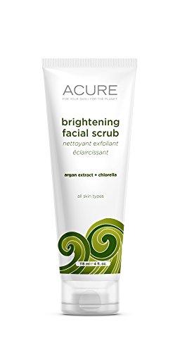 ACURE Brightening Facial Scrub, 4 Ounce