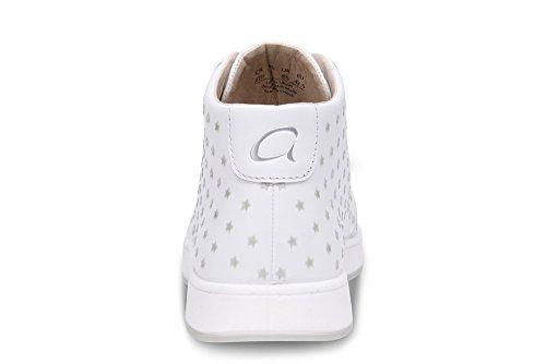 Aureus Kvinners Cosmo Mid-top Sneakers, Hvit, 9
