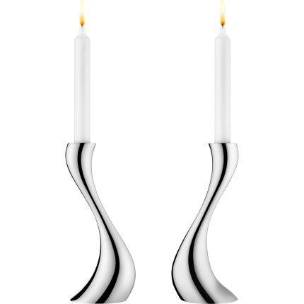 Georg Jensen COBRA Candlestick, medium (2 pc.)