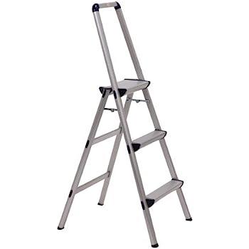 Rubbermaid Rm 3w Folding 3 Step Steel Frame Stool