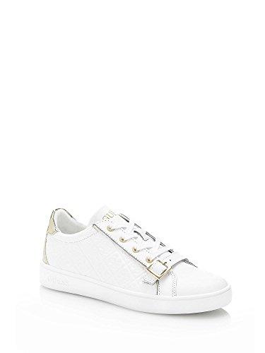 Guess Femme Baskets Blanc Gio Sneaker x8ww6gq0aZ