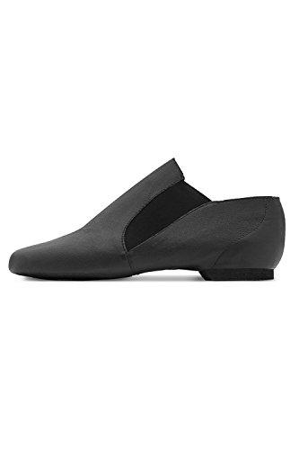 So Danca Black Leather Jazz Boot Size 9.5 UjP921Y6F