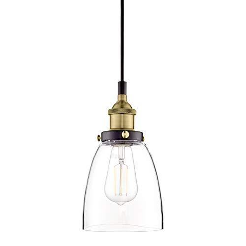 Fiorentino Antique Brass Pendant Light