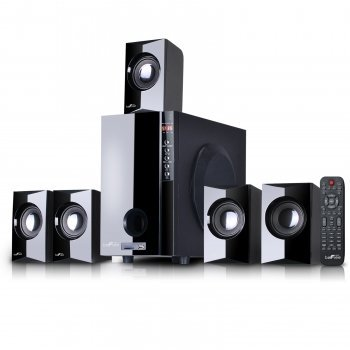 beFree Sound Powered Wireless Speaker System Black 91595497M