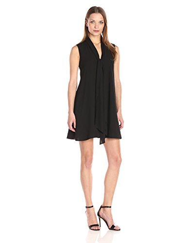 French Connection Women's Bow A-line Black 0