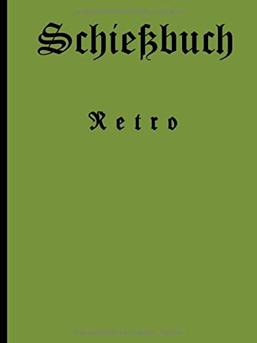 Schiessbuch - Retro