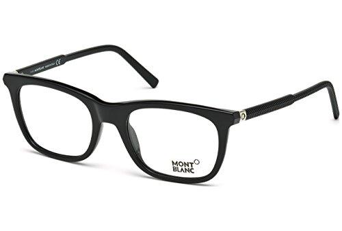 Montblanc Rx Eyeglasses - MB0610 005 - Black  (53/20/145)