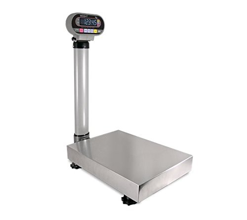 Rice Lake Ishida IGB NTEP Bench Scale with Pole 300lb/150 kg by 0.1 lb/0.05 kg Stainless steel cover Checkweigher function,New (Ishida Scale)
