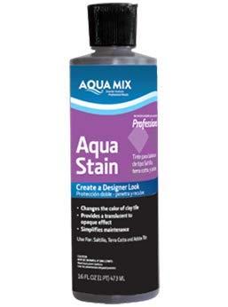 (Aqua Mix Stain Terra Cotta Pint)