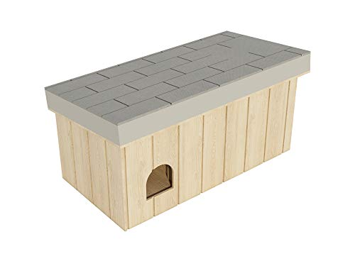 Small Outdoor Dog House Plans DIY Doghouse Puppy Shelter Pet Kennel All Weather