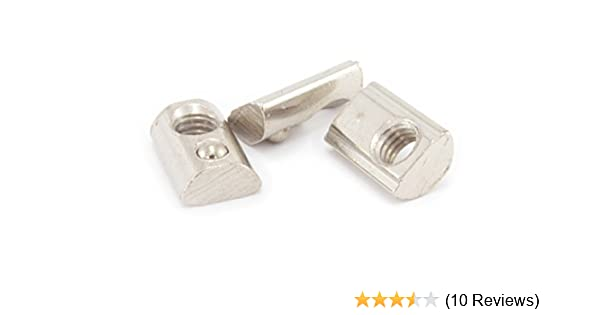 Pack of 25 Economy Pre-Assembly M5 T Nut for 20mm T-Slot//V-Slot Aluminum Extrusions