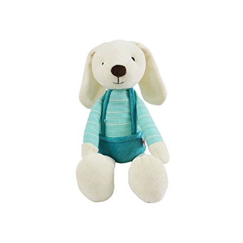 Miniso Sugar Rabbit Plush Toy 20 inch Bunny Stuffed Animal Dolls Child Pillow Cushion, Super Soft Cuddly Figures for Kids Gift Party Favors (Mint) by Miniso