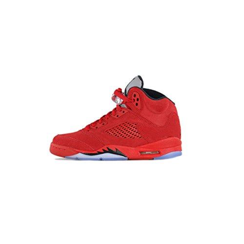 Nike Barna Air Jordan 5 Retro Bg Universitet Rød / Svart 440888-602