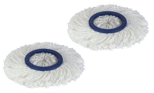- Twist and Shout Mop - 2 Replacement Mop Heads Only