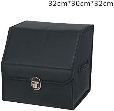 AXWT Caja de Almacenamiento Negra Compartimiento de Almacenamiento ...