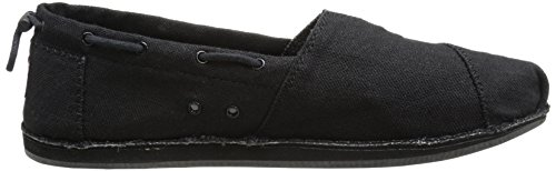 Bobs Da Skechers Da Donna Cold-on Flat Nero / Nero