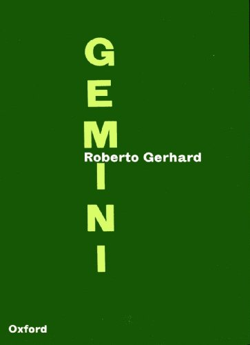 Gemini; duo concertante for violin and piano.